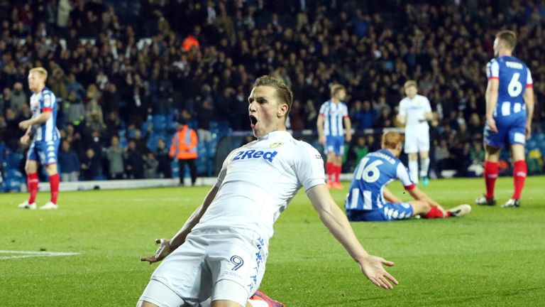 Chris Wood scored two more goals for Leeds