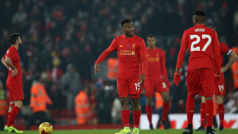 Liverpool crashed out of the EFL Cup to Southampton on Wednesday