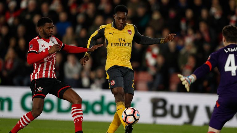 Theo Walcott and Danny Welbeck star as second-string Arsenal smash Southampton