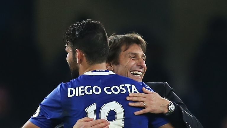 Costa says his relationship with Antonio Conte 'did not start well'