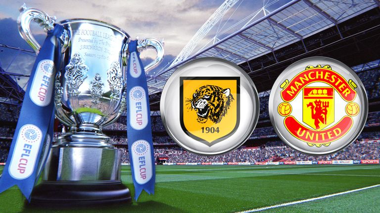 Watch Hull City v Manchester United in the second leg of the EFL Cup semi-final live on Sky Sports 1 HD from 7.30pm on Thursday