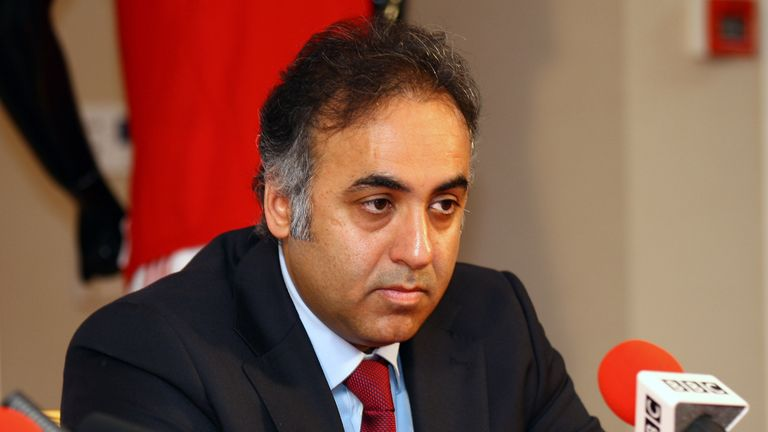Kuwaiti businessma Fawaz Al Hasawi has been chairman of Nottingham Forest since his family bought the club in 2012