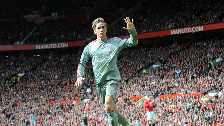 Fernando Torres tormented United as Liverpool thrashed their rivals 4-1 at Old Trafford in 2009