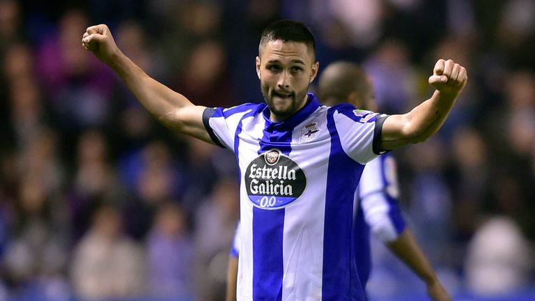 Florin Andone scored 12 goals for Deportivo last season