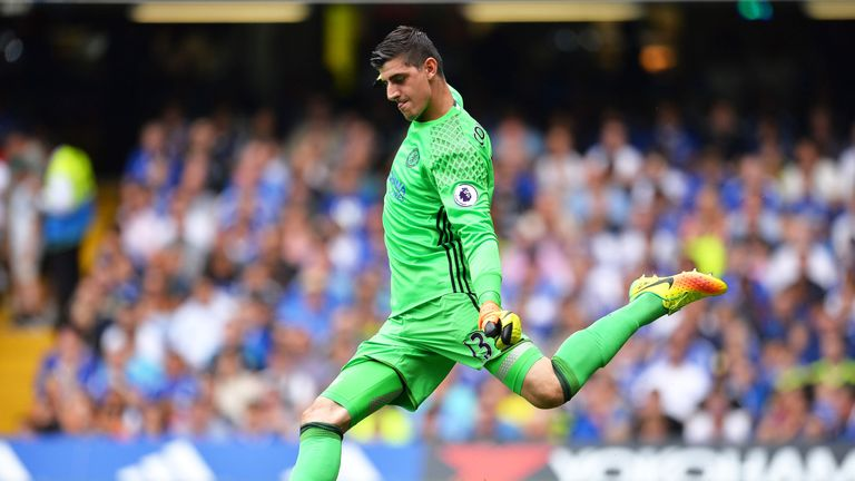 Thibaut Courtois also took part in training on Thursday