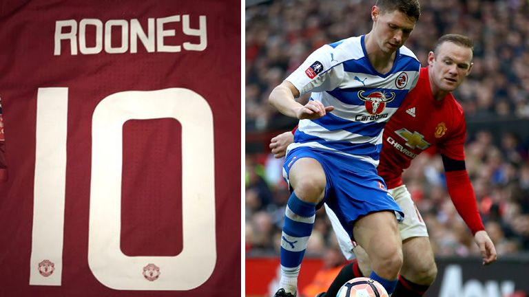 George Evans showed off his Wayne Rooney shirt  on Twitter (@GeorgeEvans70)