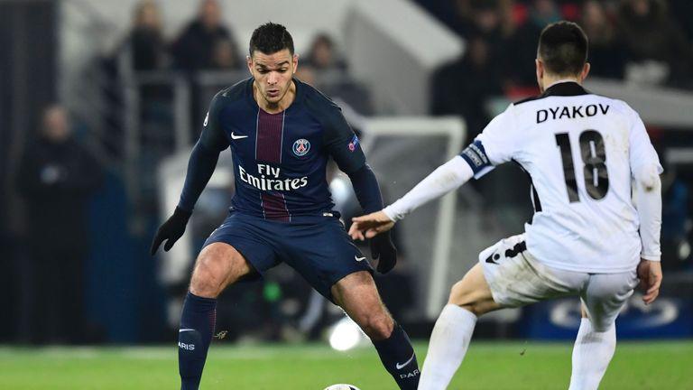 Hatem Ben Arfa has struggled for game time at PSG