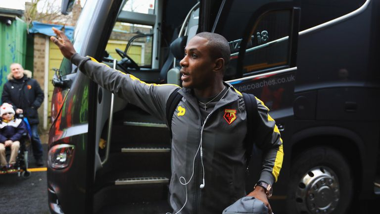 Odion Ighalo headed for China on transfer deadline day