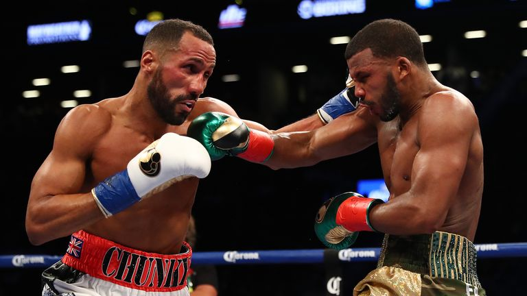 Jack drew with James DeGale last time out