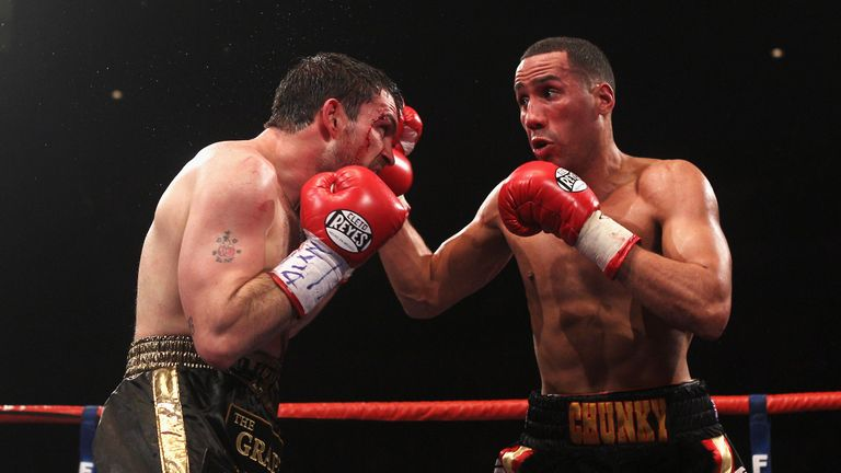 World champion James DeGale is a gym-mate Reece Bellotti