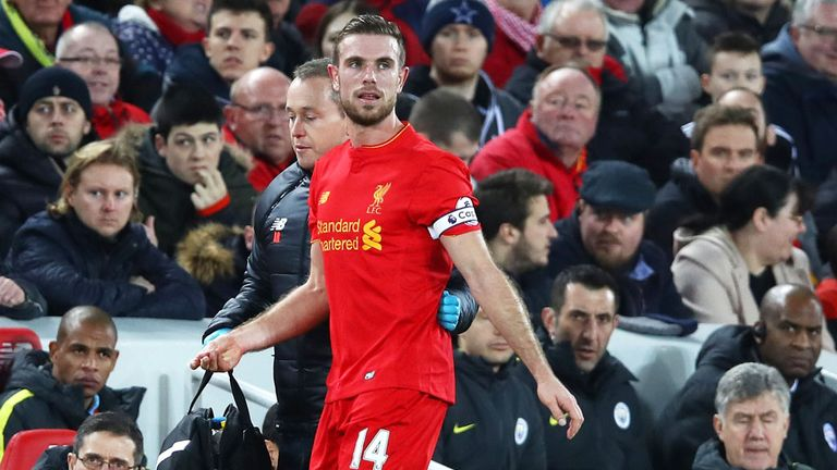 Klopp confirmed Jordan Henderson could make his return to training on Thursday following a heel problem