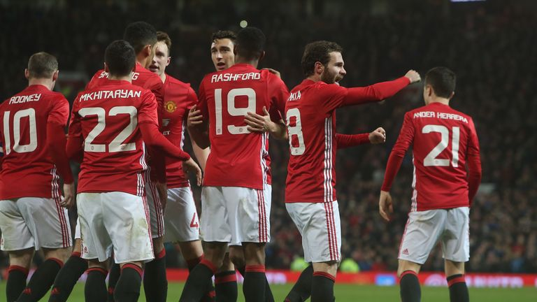 Manchester United Are Looking To Retain The Fa Cup For The First Time In Their History