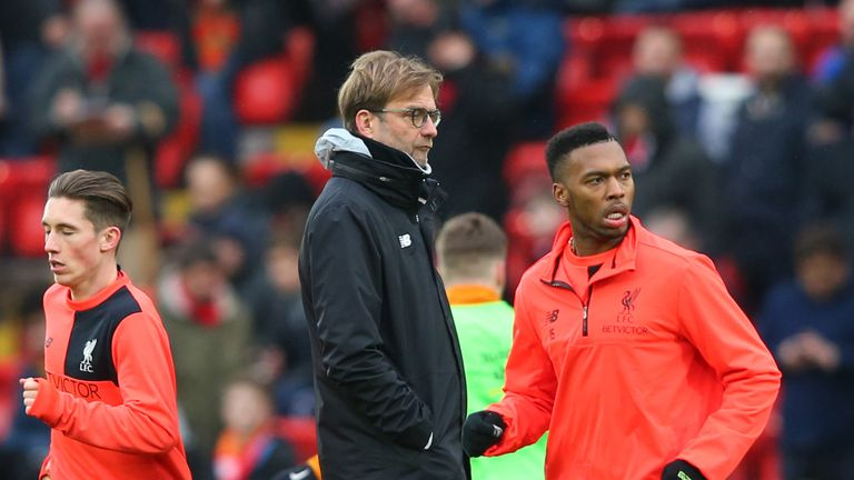 Sturridge has never truly been a key part of Jurgen Klopp's plans