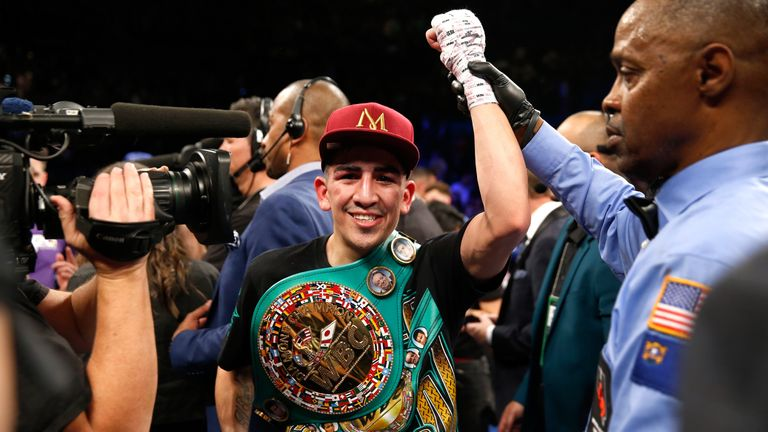 Leo Santa Cruz defends his world title as Sky Sports brings you action from two American shows
