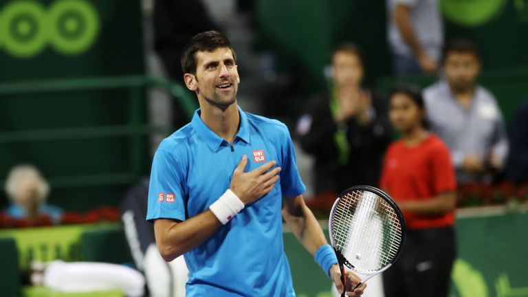 Qatar Open: Djokovic recovers from slow start to begin year with win