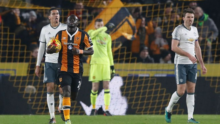 United were defeated 2-1 away at Hull City last week in the EFL Cup