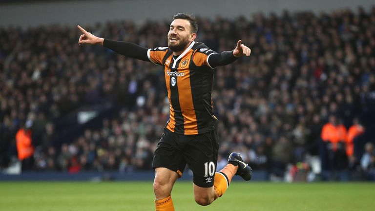Robert Snodgrass has scored seven league goals this season