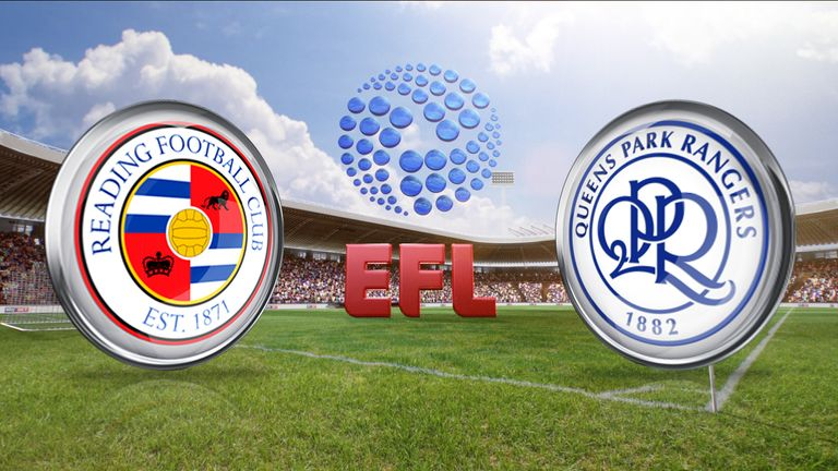 Watch Reading v QPR live on Sky Sports on Thursday night