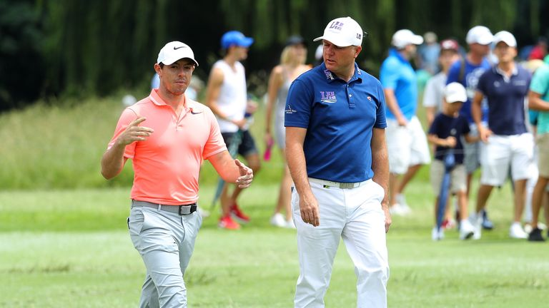 Rory McIlroy lost out to Graeme Storm on the third extra hole