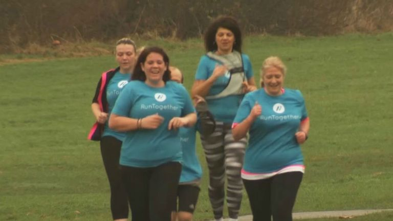 Run Together groups have been rolled out across the country
