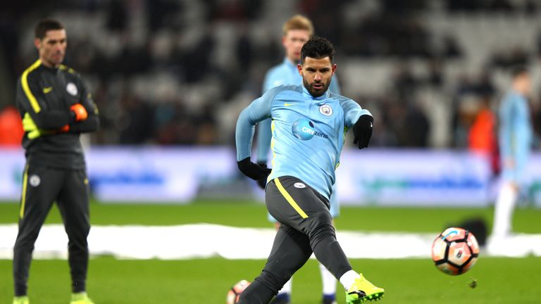 Sergio Aguero has been replaced by Gabriel Jesus in the last few fixture