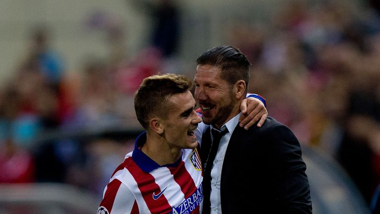 Antoine Griezmann credits Diego Simeone for his terrific form in 2016