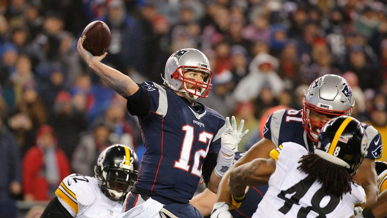 Tom Brady and the Patriots have got the better of the Steelers in recent years