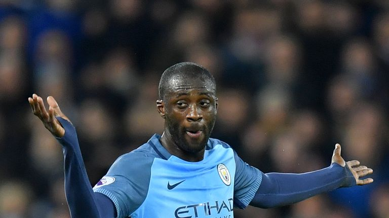 Yaya Toure joined Manchester City in 2010