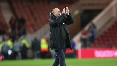 Accrington manager John Coleman