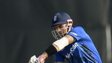 Alex Hales has been diagnosed with a fractured hand