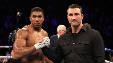 IBF champion Anthony Joshua and Wladimir Klitschko will also battle for WBA 'super' belt at Wembley