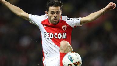 Monaco's Bernardo Silva scored the equaliser for Monaco on Friday