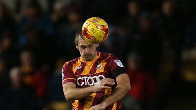 James Hanson has scored 91 goals in over 300 appearances for Bradford