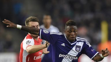 Gohi Cyriac faced Arsenal twice in the Champions League when he played for Standard Liege and Anderlecht