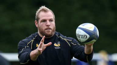 James Haskell is in Wasps' starting team for the first time this season