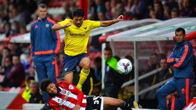 Josh Laurent (on ground): Bury loan move