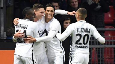 Julian Draxler scored the winner for PSG on Saturday
