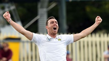 Kyle Abbott has quit international cricket to join Hampshire on a Kolpak contract