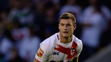 Zak Hardaker was omitted from England's squad for the Four Nations
