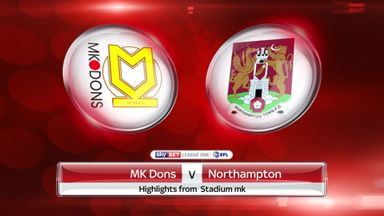 MK Dons 5-3 Northampton