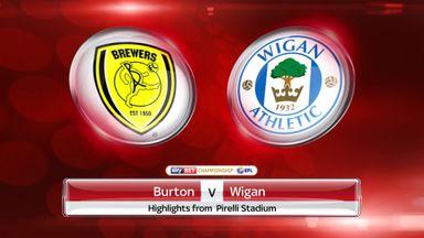 Burton 0-2 Wigan