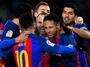 Barcelona are expected to be involved in another entertaining clash