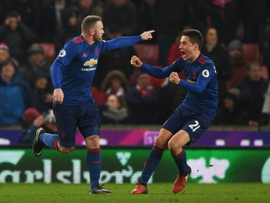 Wayne Rooney netted his 250th goal for Manchester United