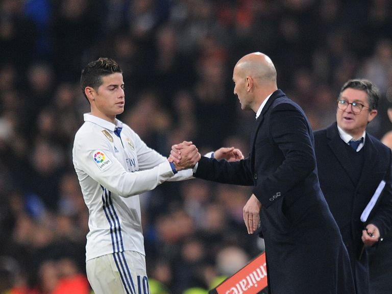 I am staying at Real Madrid - James Rodriguez