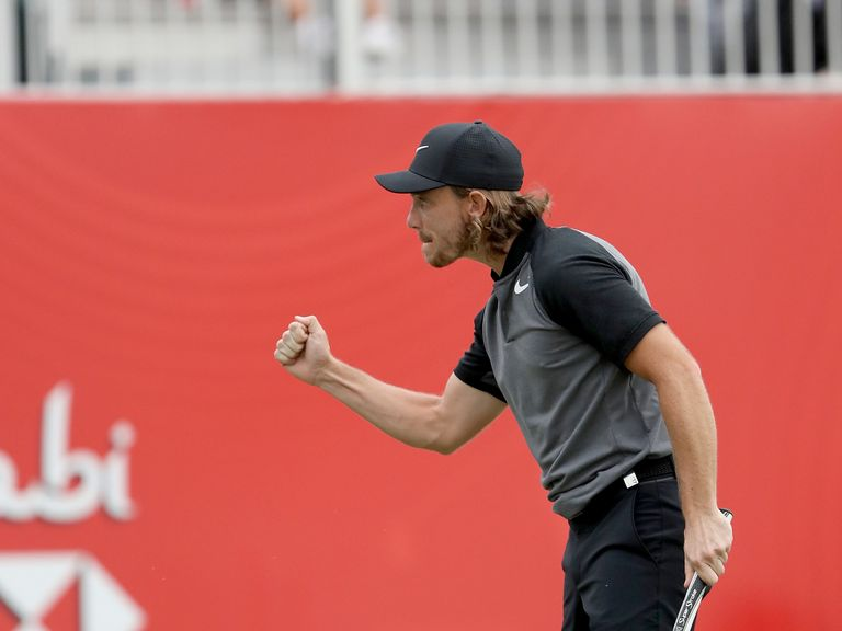 Tommy Fleetwood claims one-shot victory at Abu Dhabi HSBC Championship