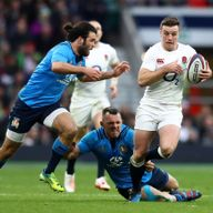 George Ford in action against Italy