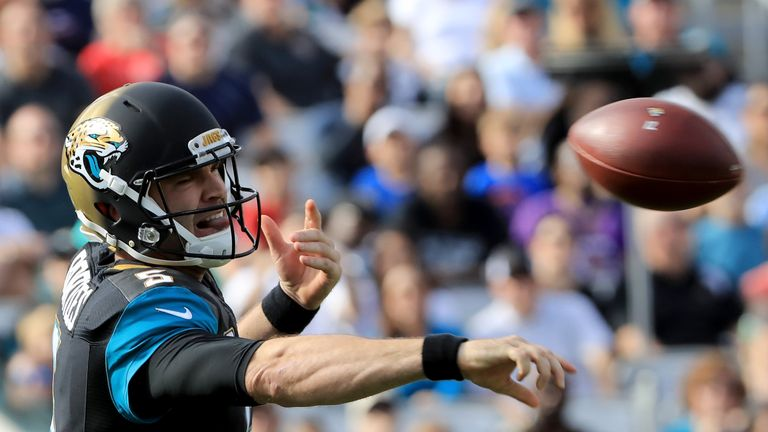 QB Blake Bortles was in fine form for the Jaguars in their Week 13 win