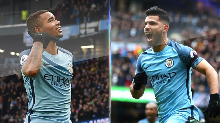 Gabriel Jesus and Sergio Aguero have shown they can adapt to play together