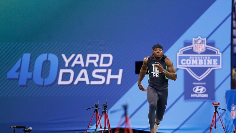 The scouting combine is where the best college recruits are put through their paces