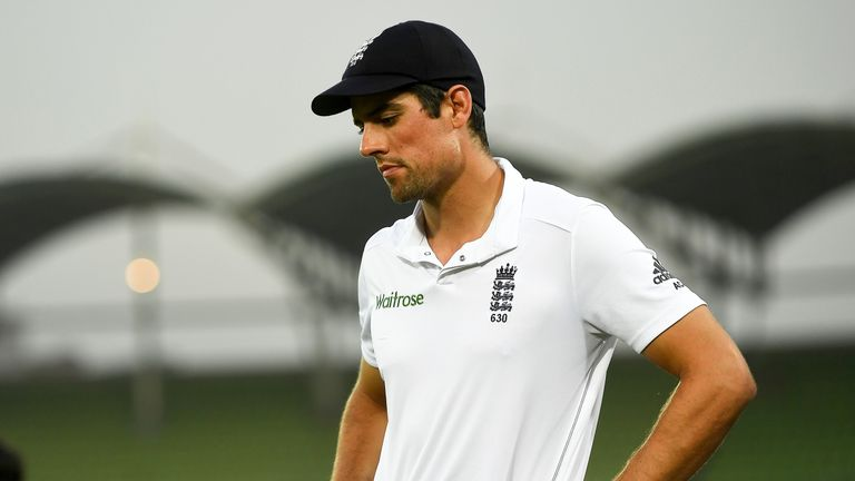 Alastair Cook stepped down as England captain this week